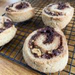 Gluten Free and Vegan Cinnamon Pecan Swirls